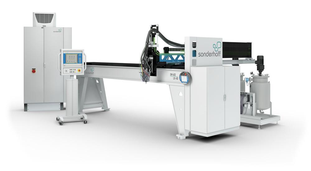 Technische Visualisierung Maschine